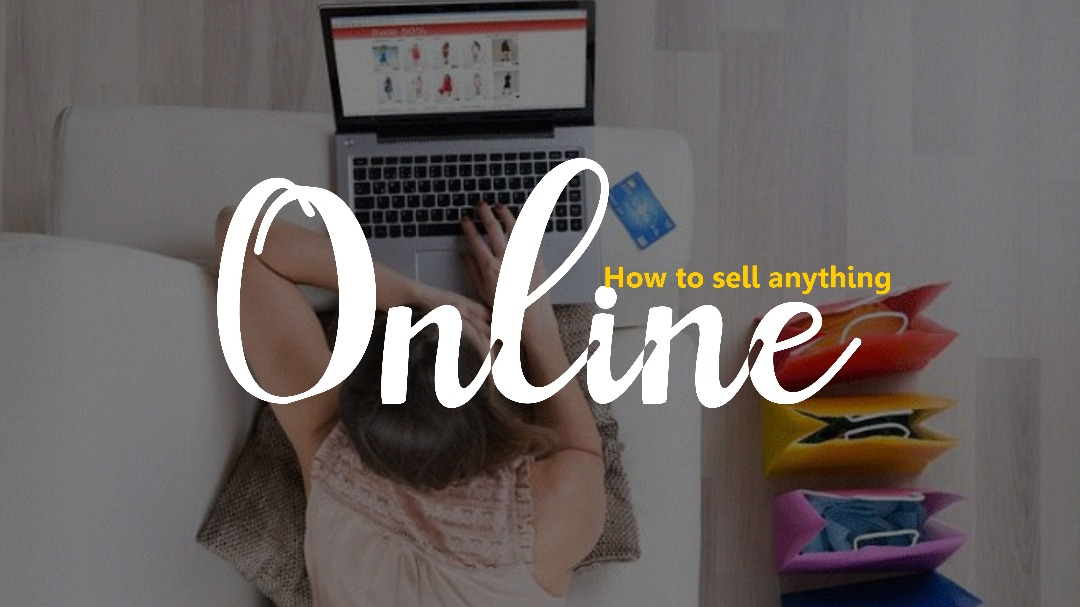 Sell Anything Online